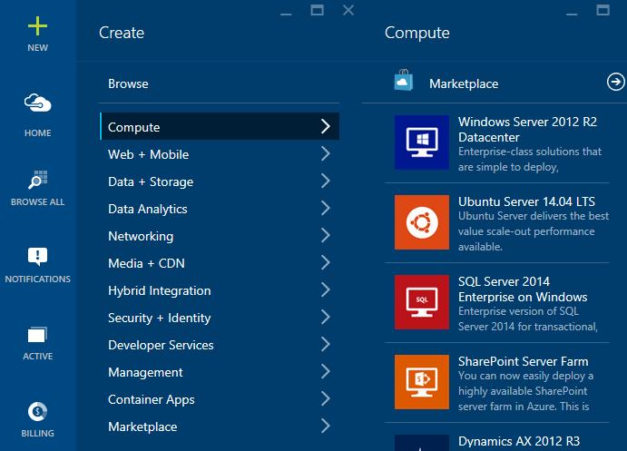 Azure-Create-Compute