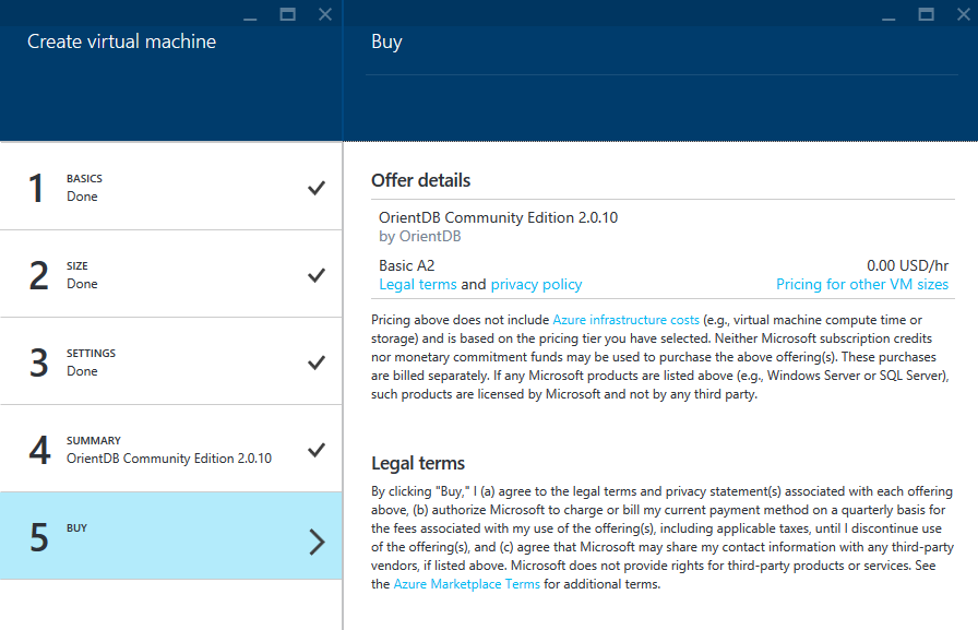 Azure-Create-Virtual-Machine-Buy