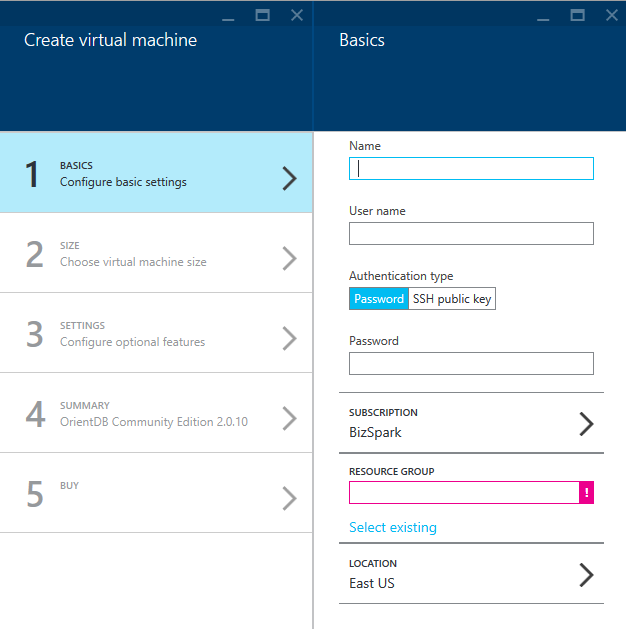 Azure-Create-Virtual-Machine