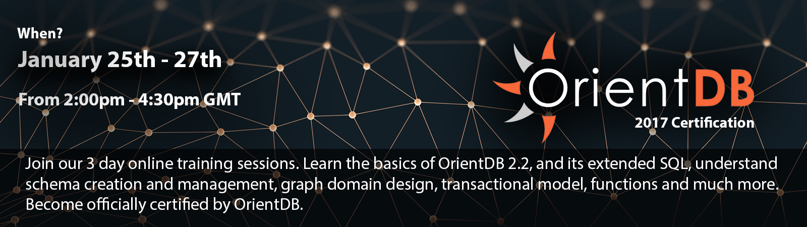 OrientDB 2017 certification