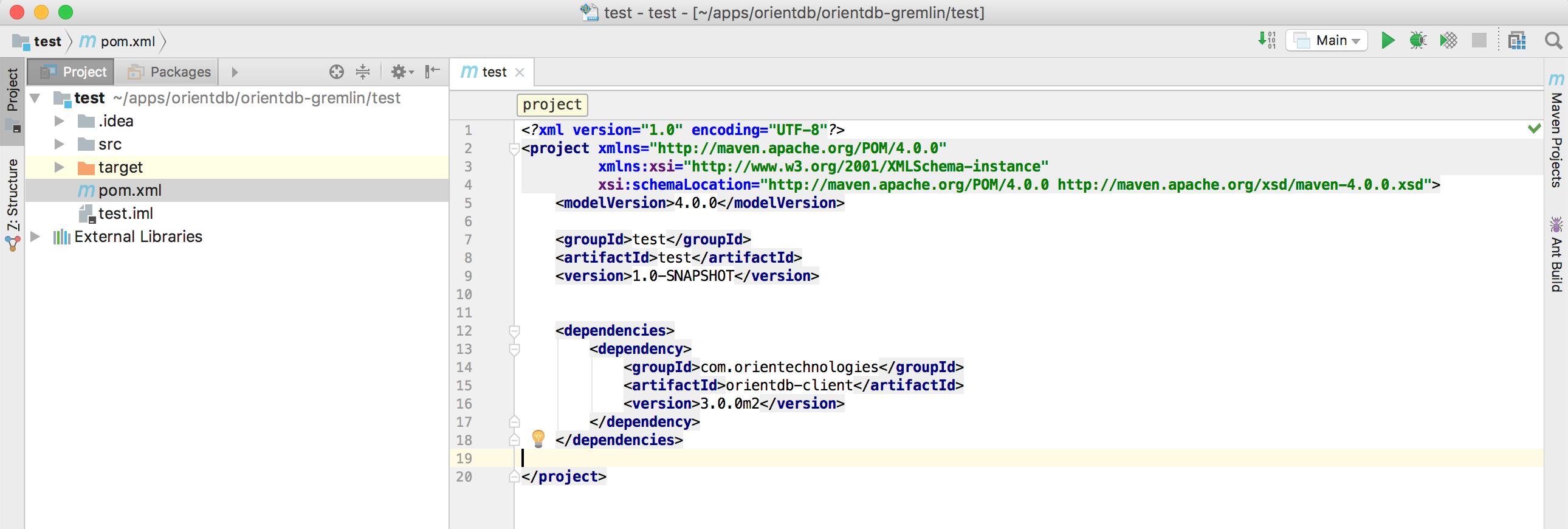 Create the Java Application · OrientDB Manual